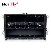 New! 9 Android 8.1 Car GPS Navigation for VW Volkswagen SKODA GOLF 5 Golf 6 POLO PASSAT B5 B6 JETTA TIGUAN dvd player BT RDS
