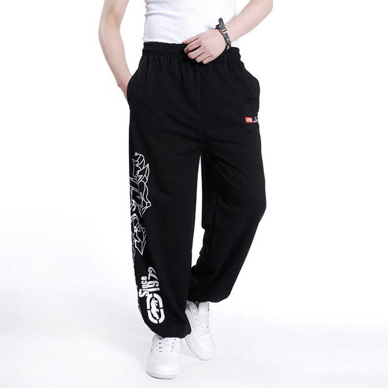 Streetwear 2019 Sonbahar Bahar Pamuk Gevşek Erkek harem pantolon Erkek Sweatpant Hip Hop Pantolon Erkek Artı Boyutu Giyim Parkour Pantolon