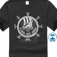 92a57cff New 2018 Men'S Shirt New Print T Shirt Floki'S Shipyard Vikings Valhalla  Viking Norsemen Norse Floki Cartoon Tee Shirt