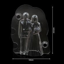 (6 шт/лот) Бесплатная доставка Новая прозрачная Свадебная 3d
