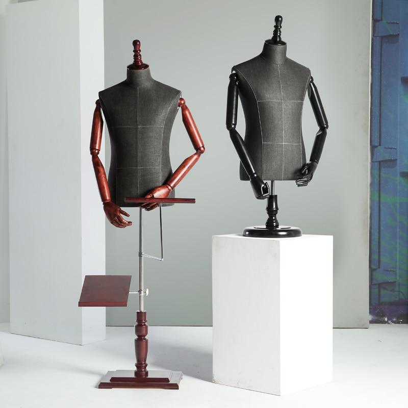 Requisiten halben Körper männliche Schaufensterpuppe Kleiderbügel - Kunst, Handwerk und Nähen - Foto 4