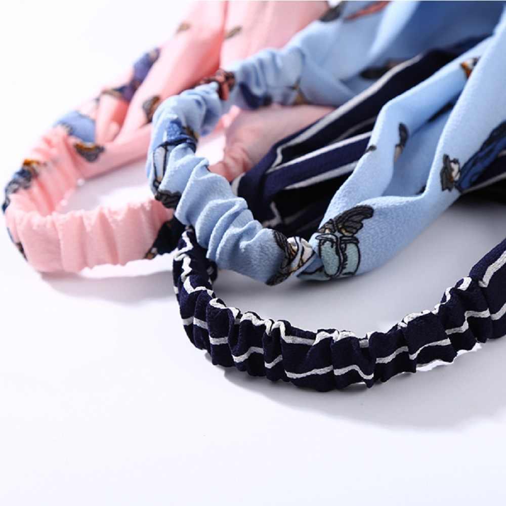 2019 الأزياء النساء العمامة تويست الصليب عقدة رئيس التفاف العصابة الملتوية معقود لينة مرونة الشعر العصابات إكسسوارات الشعر الساخن بيع