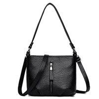 2019 new winter women's bag fashion multi function Messenger bag shoulder bag turn lock handbag free ship