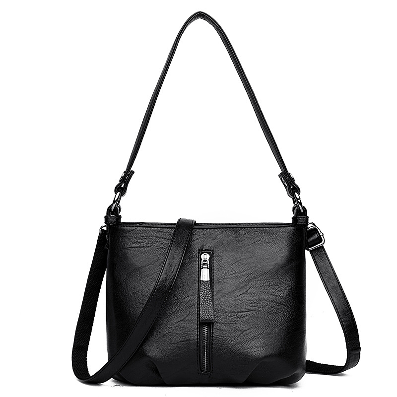 2019 nueva bolsa de mujer de invierno de moda multifunción bolsa de mensajero bolsa de hombro Cierre de giro bolso envío gratis