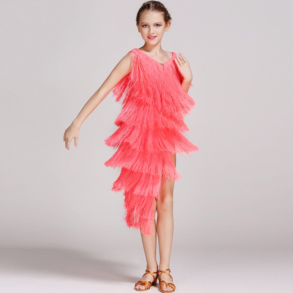 bb4231167a38 Latin Dance Dress Children With Hand sewing Stone Girls Dance Dress Kids  Ballroom Dance Competition Rumba/Cha Cha/Tango Dresses-in Latin from  Novelty ...