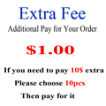Extra fee for order 2016