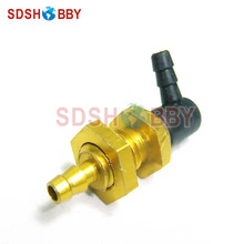 6STARHOBBY L Type Oil Drum Connector Fuller Nozzle D4x M8