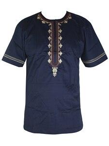 Image 1 - Ropa africana para hombre, ropa musulmana bordada, ropa Africana dashiki, novedad de 2019