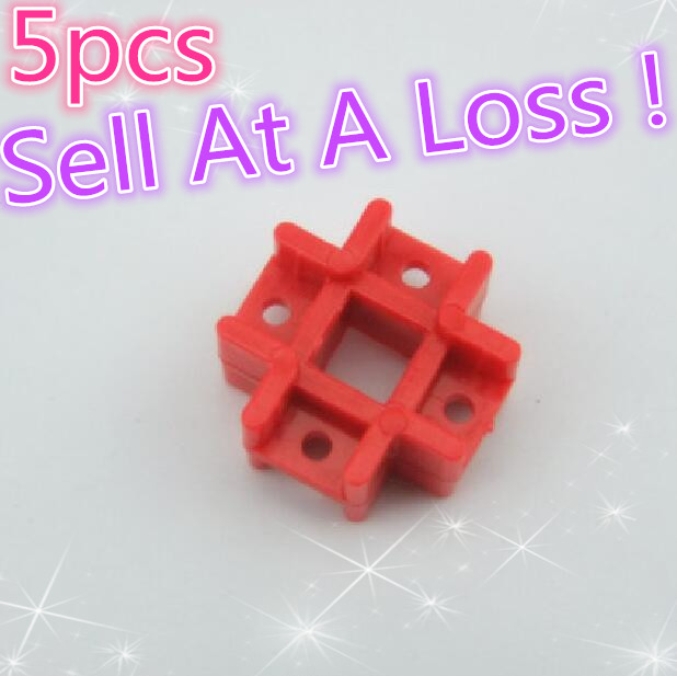 5pcs K369B Square Connecting Piece Matching Fix Lengthening DIY Toys Parts Sell At A Loss USA Belarus Ukraine 100pcs g10 4 8mm crimp terminal splice female spade connector splice with case high quality sell at a loss usa belarus ukraine