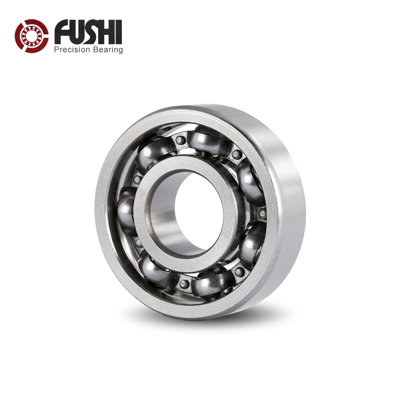 6203 Bearing 17*40*12 mm ABEC-3 ( 4 PCS ) For Motorcycles Engine Crankshaft 6203 OPEN Ball Bearings Without Grease image