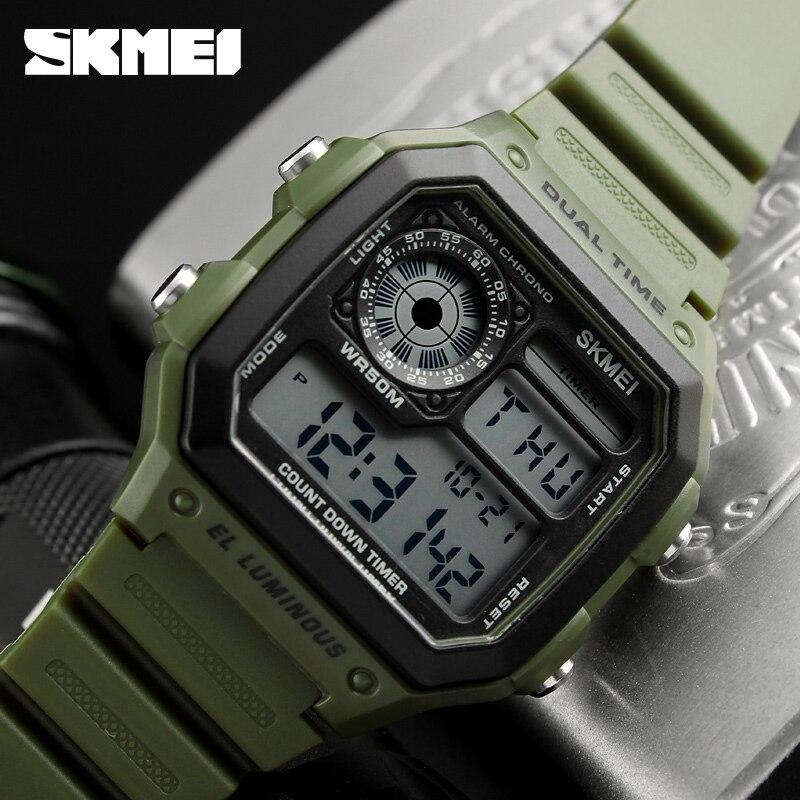 Deportes Reloj de Los Hombres Famoso LED Relojes Digitales Relojes Masculinos Reloj de Los Hombres Relojes Deportivos Uhren Herren Reloj Hombre Montre Homme