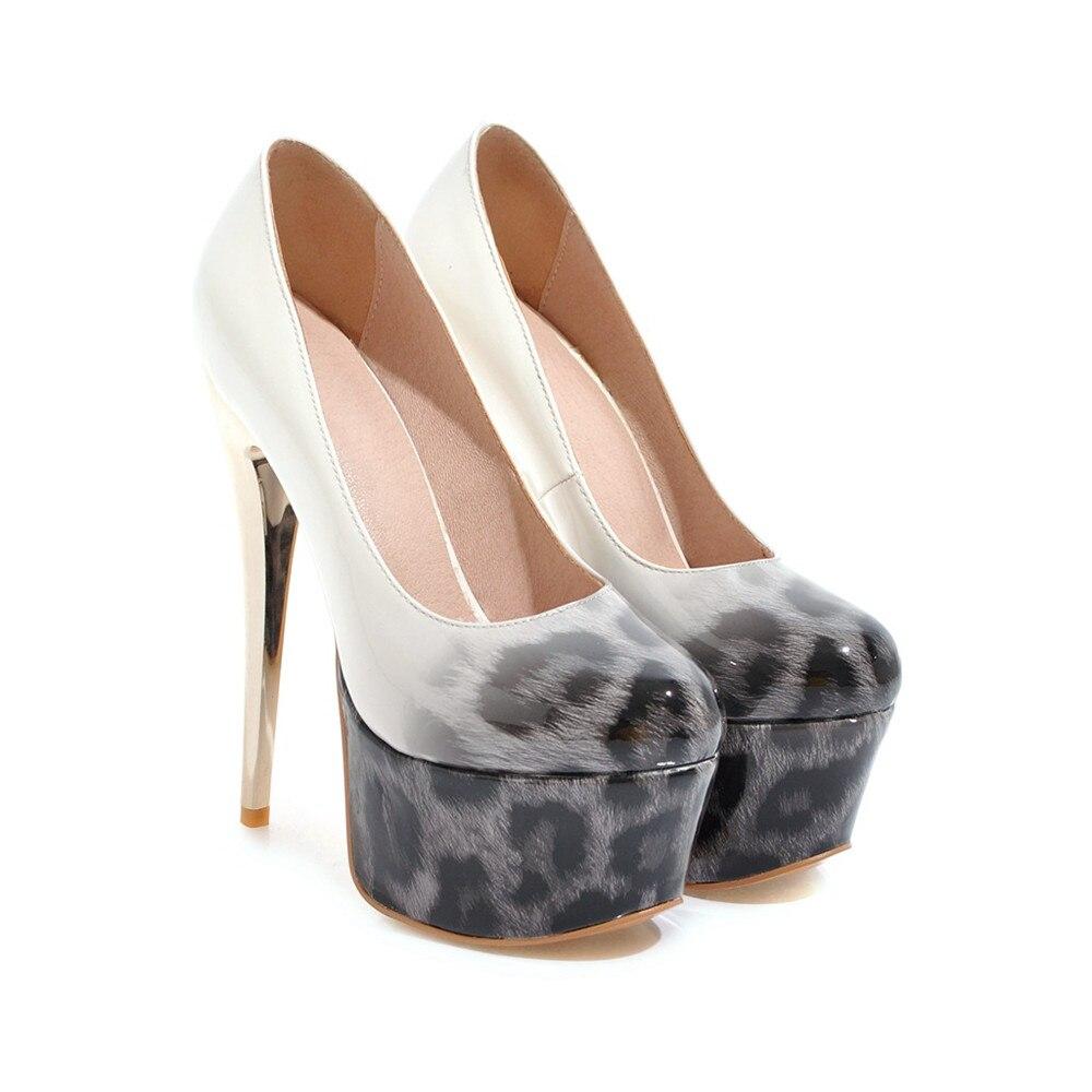 Automne 33 Printemps Bout Asumer Chaussures Taille Bleu Noir Femmes brown Profonde Rond De bleu Super 44 Sexy Haute Plate forme Peu Grande Brun Femme Noir Mode rX1Y1fqw