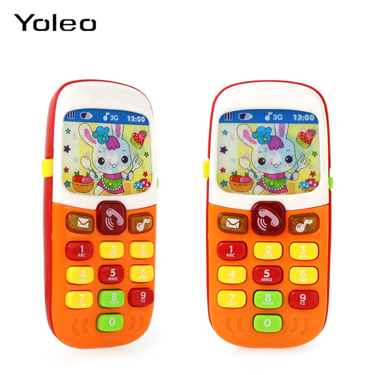 Electronic Toy Phones Kid Mobile Phone Cellphone Telephone Educational Learning Toy Music Baby Infant Phone Best Gift For Infant
