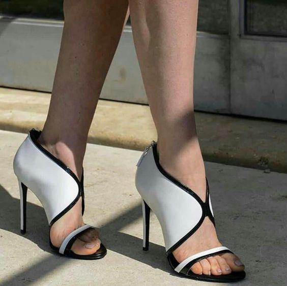 Pictures Chaussures Spartiates Talons Avant Femelle Mélangée Mode Dames Couleur As Sandales Habillées Mince V Peep Abesire Hauts Pour 2019 Toe Femme OzqwRC