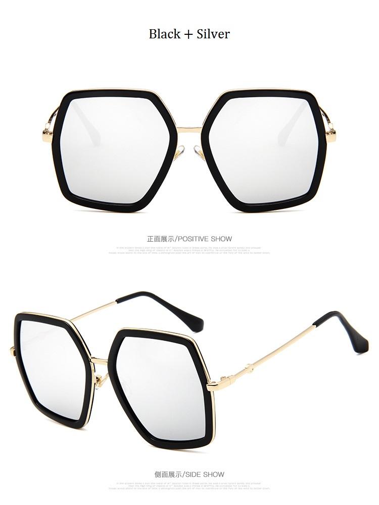 HTB1BOEwd0fJ8KJjy0Feq6xKEXXaV - Square Luxury Sun Glasses Brand Designer Ladies Oversized Crystal Sunglasses Women Big Frame Mirror Sun Glasses For Female UV400