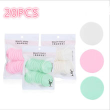 20pcs/pack Makeup Sponge Powder Puff Facial Sponges Soft Powder Puff Beauty Foundation Cosmetic Make-up Sponge Random Color(China)