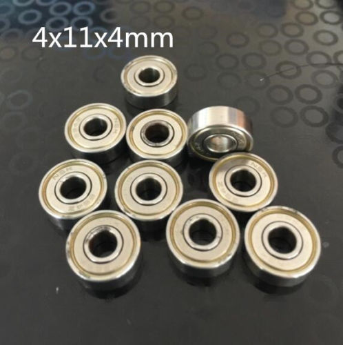 10pcs MR74z 4x7x2.7mm Open Miniature Bearings ball Mini Hand Bearing Spinner ^