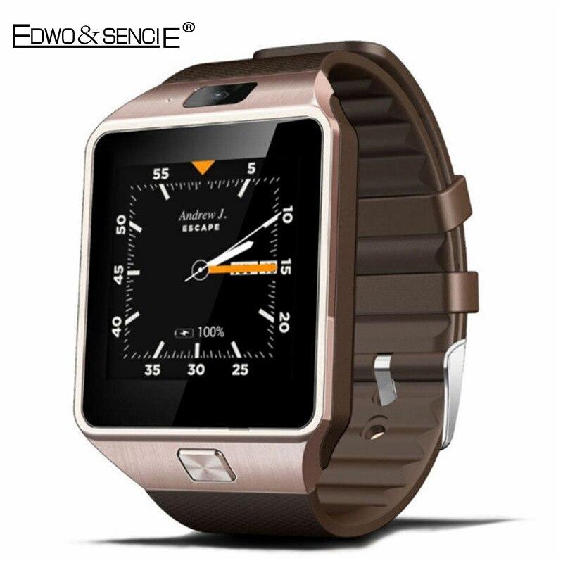 EDWO QW09 Bluetooth font b Smart b font Watch Clock Android 4 4 MTK6572 Dual Core