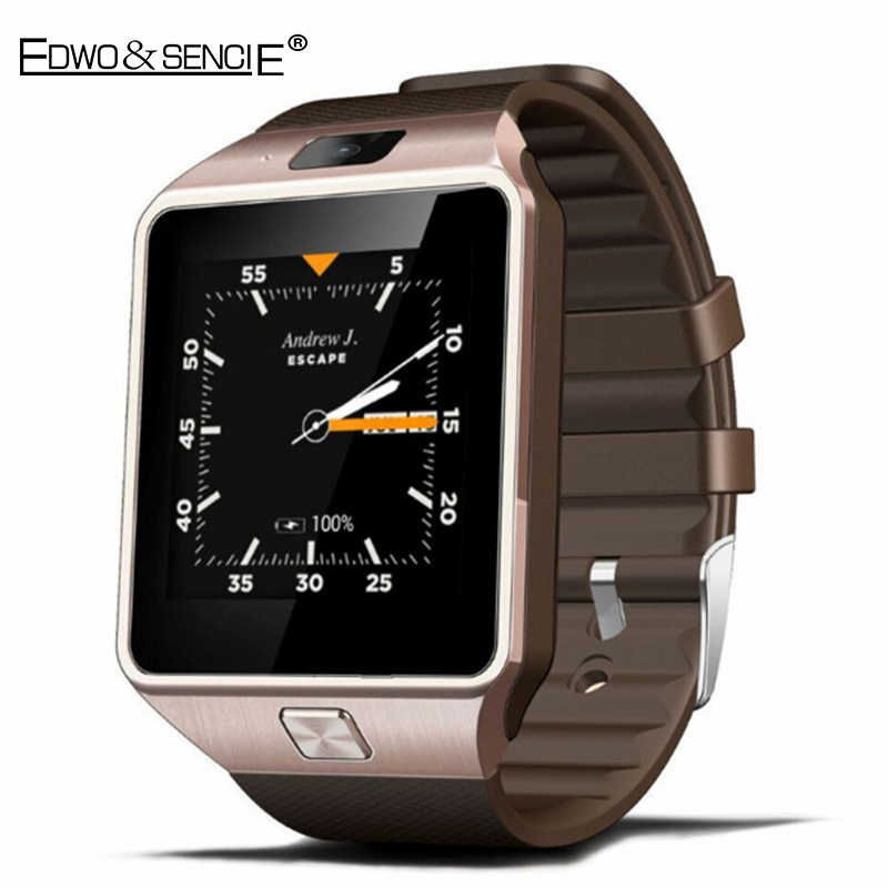 EDWO QW09 Bluetooth font b Smart b font font b Watch b font Clock Android 4
