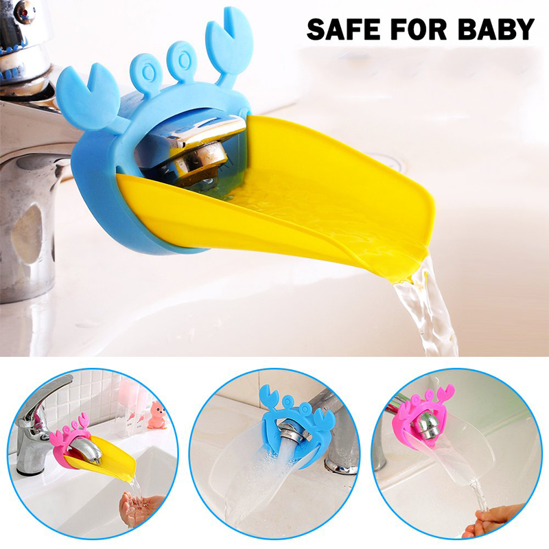 Faucet Extender Sink Handle Extension Toddler Kid Bathroom Children Hand Washing Tools Tap Extension Bathroom Accessories