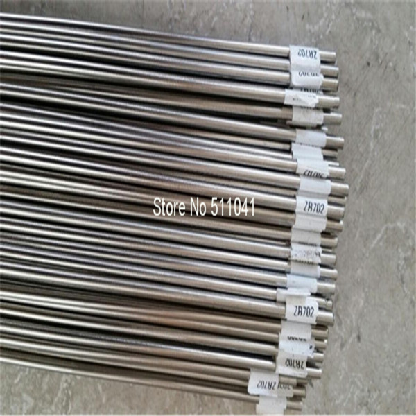 10pcs Zirconium bar rod Grade 702 as per ASTM B550 R60702 35mm diameter x 1000mm цена