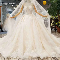LSS070 sexy sleeveless wedding dress with long veil champagne ball gown wedding gown china wholesale fast shipping real price