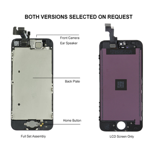 Image 4 - Complete Full Set LCD Screen For iPhone 5 5C 5S SE LCD Display Touch Digitizer Assembly Replacement Home Button+Front Camera