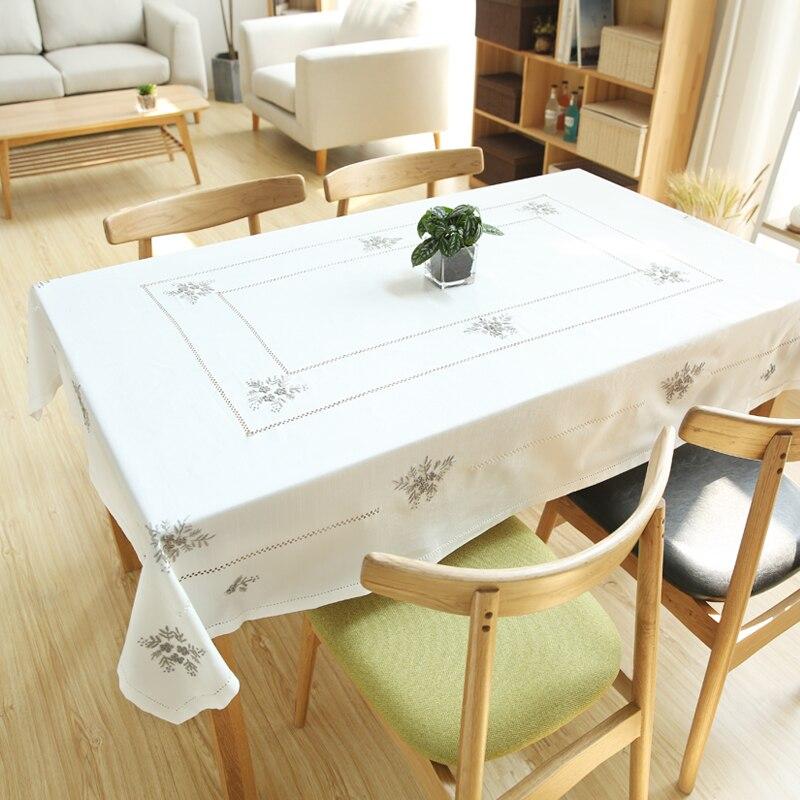 Cotton Cloth Fabric Tablecloth Simple Small Fresh Tea ...
