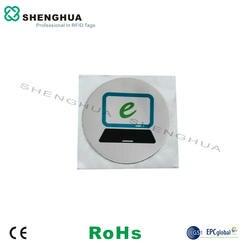 6 шт./партия Новый Пассивный HF RFID 13,56 МГц алюминий инкрустация N tag213 для печати Автомобильный ключ PET водонепроницаемый тег для