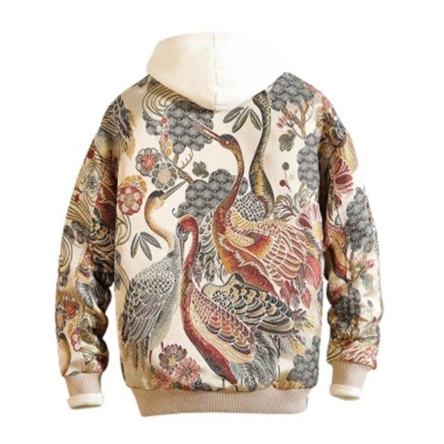 e6e8af0c6 US $41.19 49% OFF|Sukajan Fashion Men Pilot Jacket Bomber Jacket Boy Hip  Hop Floral Design Slim Fit Male Coat Man Jackets Plus Size 5xl 50JK053-in  ...