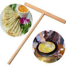 1 Набор деревянных кухонных аксессуаров с Т-образным буквенным принтом, инструмент для приготовления блинов, сковорода для яиц, антипригарная форма для выпечки дома