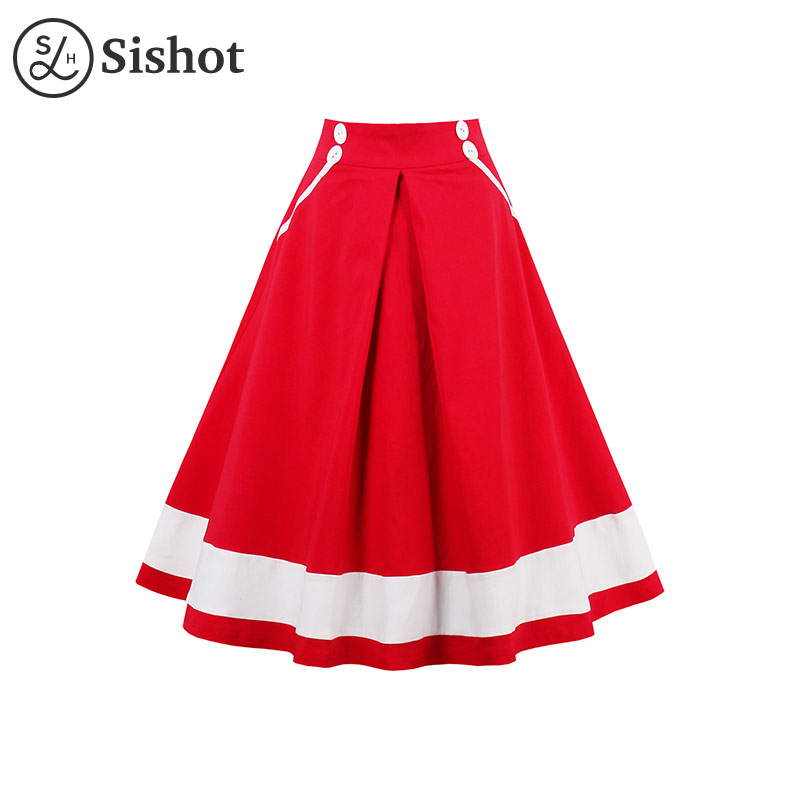 Online Get Cheap Red Knee Length Skirt -Aliexpress.com | Alibaba Group