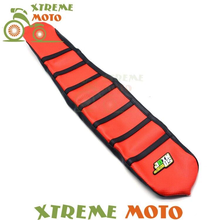 Red Gripper Soft Seat Cover For Suzuki RMZ250 RMZ 250 10 11 12 13 14 15 16 Motorcycle Motocross Supermoto Dirt Bike Off Road cover coa2 11