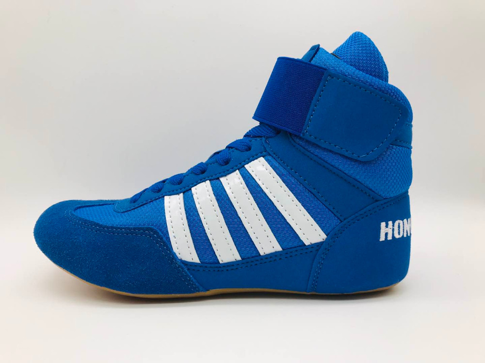 Sneakers Boxing-Shoes Gear Professional Men Fighting Youth Fitness Sports Kids Child