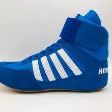 Профессиональная спортивная детская обувь для борьбы; женская обувь для бокса; спортивные кроссовки; Молодежная обувь для занятий фитнесом; тренировочная обувь; Размеры 35-40