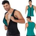 Nova mens Slimming Vest Neoprene Homens Shaper Do Corpo de Emagrecimento Cinto Corset Cintura Postura Instrutor Magro Corsets Shapers