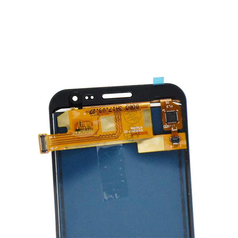Calidad AAA + J200 de pantalla de LCD para Samsung Galaxy J2 2015 J200 J200F Display Panel + ASAMBLEA DE PANTALLA TÁCTIL PARA EL samsung J2 2015 LCD