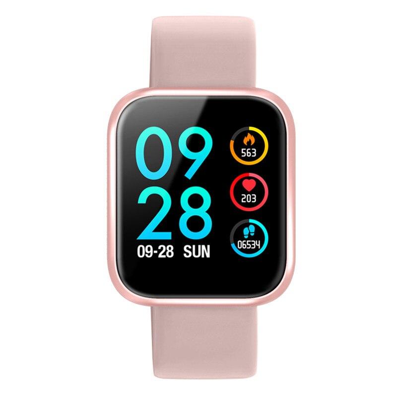 3 couleurs P70 bracelet intelligent avec moniteur de fréquence cardiaque rappel de message d'appel de pression artérielle pour iphone xiaomi huawei samsung-in Bracelets connectés from Electronique    2