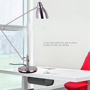 Image 3 - Marmenkina คุณภาพสูงโคมไฟตั้งโต๊ะสำนักงาน LED โคมไฟตั้งโต๊ะแบบยืดหยุ่นอ่านตารางโคมไฟ AC110V 220V 230V 240V