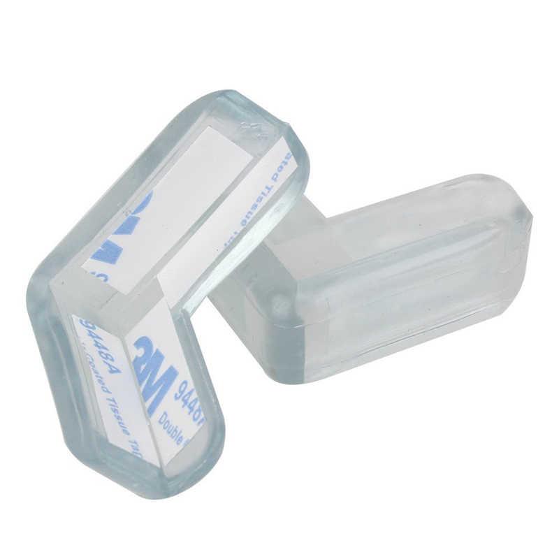 20 штук для безопасности ребенка мягкий силиконовый замки Таблица Защитные уголки крышки Дети столкновений край Уголки