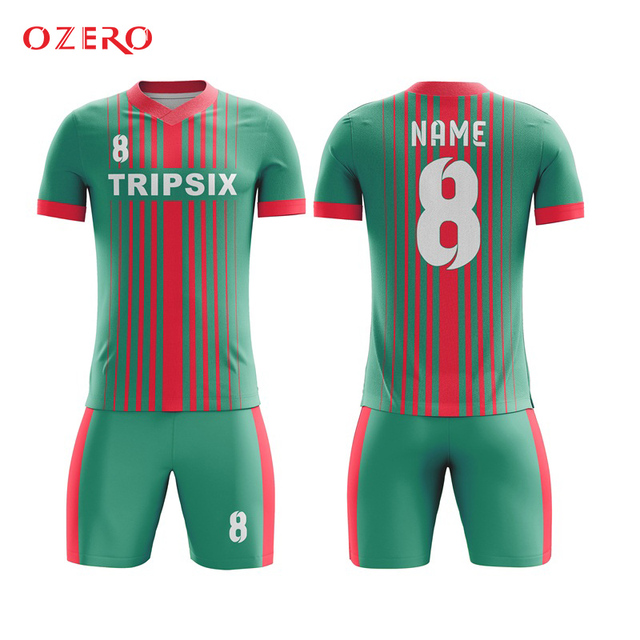 787ece53a48 Costume Top High Quality Red And White Generic Football Jersey-in ...