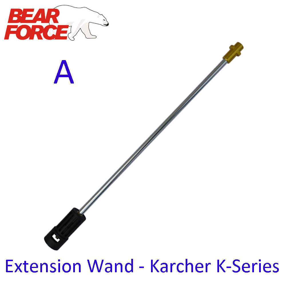 "Hogedrukreiniger Extension Wand Lance Spear Buis M22 & 1/4 ""Quick Connection voor Karcher Auto Wasmachine"
