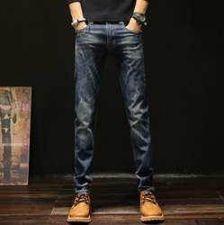 2019 Новое прибытие стрейч Весна мужские джинсы повседневные горячие продажи мужские брюки Бесплатная доставка