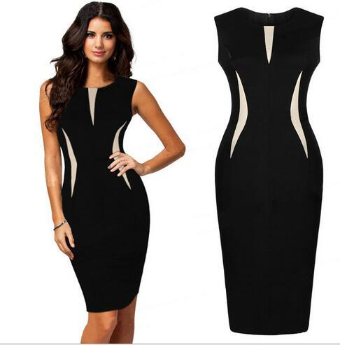 Aliexpress.com : Buy Zomer Jurk Women Professional Ladies Dresses ...