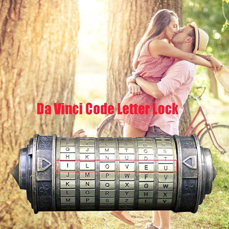 Интеллектуальный буквенный замок Da Vinci Intelligence Toys Da Vinci код для реквизит Прямая