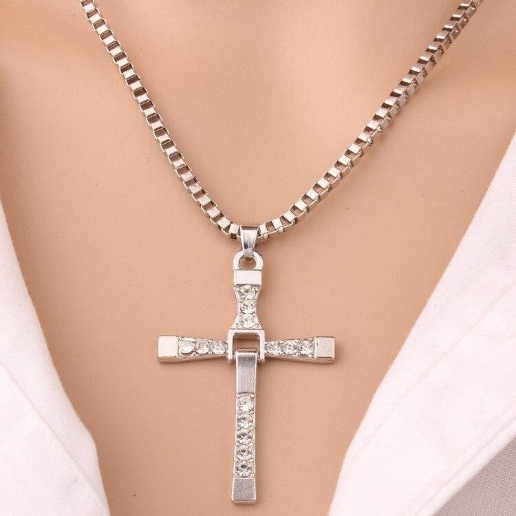 Ornements Passion 8 pendentif coupe croix collier femmes homme pendentif cadeau de noël argent 925 bijoux TIF822 xiangl bijoux femme
