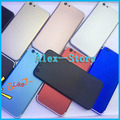 For iPhone 7 Style Back Housing for iPhone 5 5S 6 6S 6Plus 6SPlus Alloy Metal Back Battery Cover Case Housing Middle frame