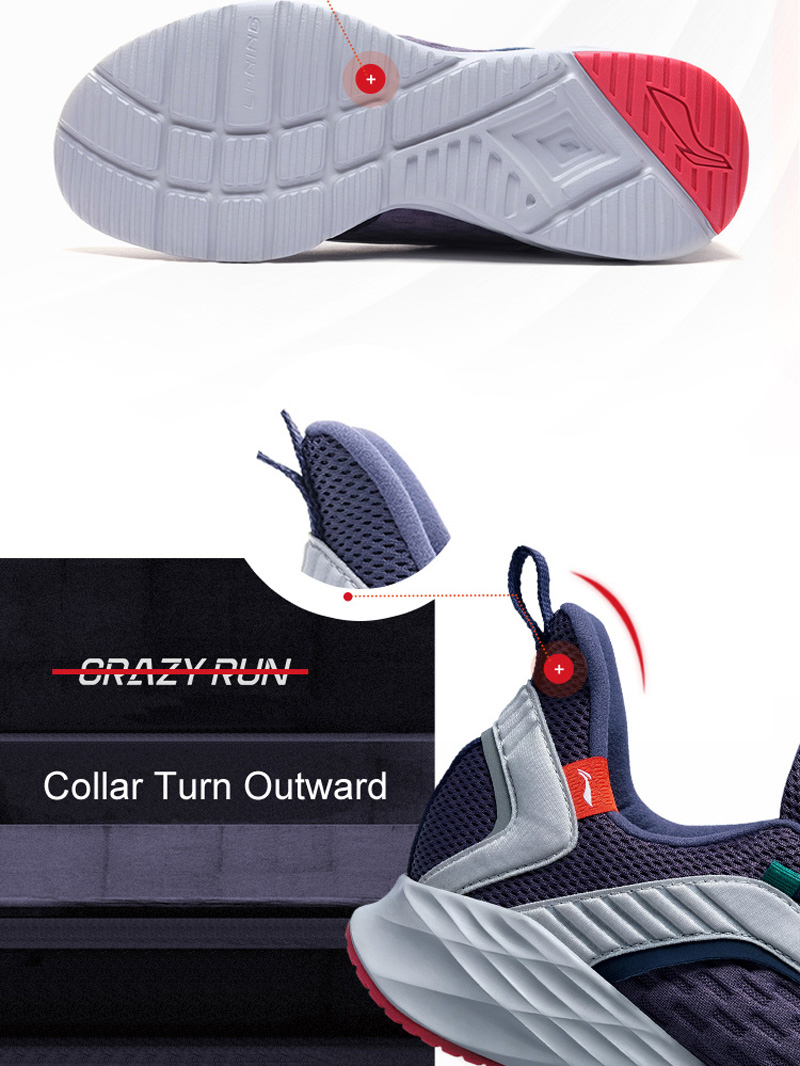 Foto of outsole Men's cushion running shoes. Men's cushion running snakers