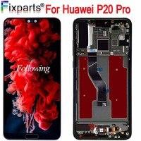 Новый черный 6,1 для huawei P20 Pro ЖК экран Сенсорная панель дигитайзер P20 Pro CLT AL01 ЖК дисплей с сенсорным экраном P20 Plus дисплей