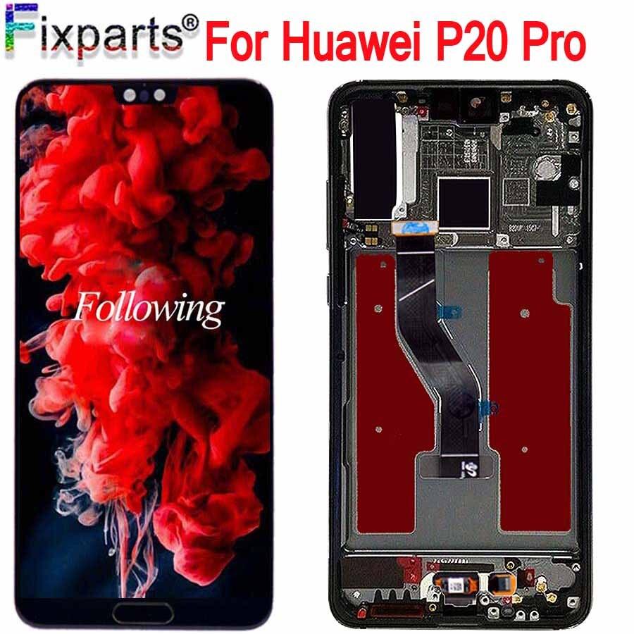 Nouveau Noir 6.1 Pour Huawei P20 Pro LCD écran de visualisation numériseur à écran tactile P20 Pro CLT-AL01 Lcd Avec Écran Tactile P20 Plus Affichage